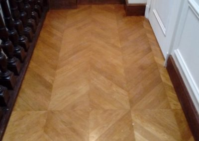 photo parquet pointe d'hongrie