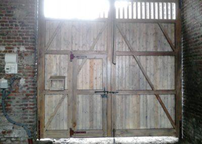 menuiserie portail de ferme