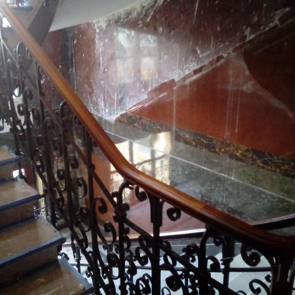 Rampe D Escalier Murale Bois rampes | aux ateliers d'artois