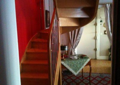 Escalier à la française