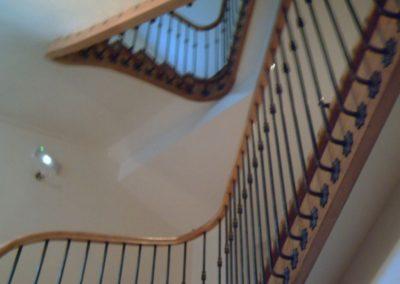 photo escalier balustre à l'anglaise
