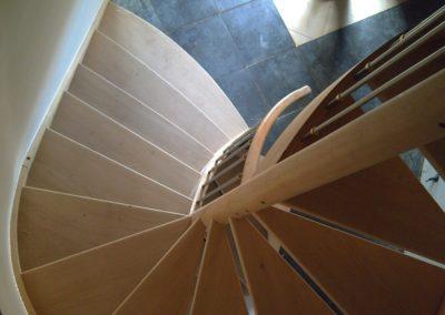 photo escalier hêtre
