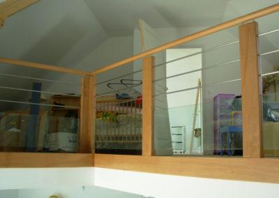 rampe bois tube inox (62,59,75)