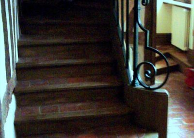 Photo restauration escalier